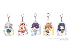 A3 Acrylic Key Ring [Ero Manga Sensei] 01/Blind Set of 5