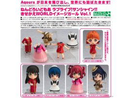 預訂 6月 日版 GOODSMILE Nendoroid More - Love Live! Sunshine!!: Dress Up World Image Girls Vol.1 5Pack BOX