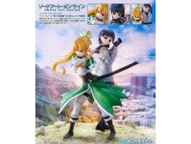 Union Creative Sword Art Online 刀劍神域 Leafa 莉法 & Suguha Kirigaya 桐谷直葉 2 Figures Set PVC Figure Pre-order