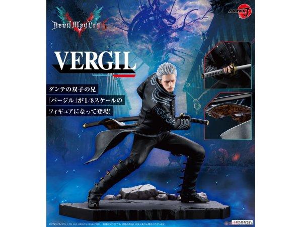 日版 Kotobukiya 壽屋 ARTFX J Devil May Cry 5 Vergil 1/8 PVC Figure Pre-order