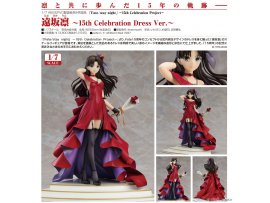 預訂 6月 GSC  FATE  遠坂凜 ~15th Celebration Dress Ver.~ PVC Figure
