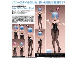 預訂 6月 日版 Freeing B-STYLE Re:ZERO -Starting Life in Another World 從零開始的異世界生活 Rem 蕾姆 Bunny Ver 2nd 1/4 PVC Figure Pre-order