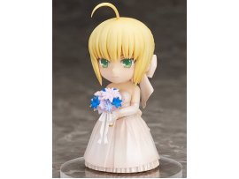 JP Aniplex Chara Form Q版 Fate Stay Night 命運守護夜 Saber 10th Royal Dress 皇家禮服 新娘 Figure