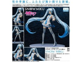 FREEING 初音 雪 初音 SNOW MIKU SNOW VER. 1/4 PVC GIRL FIGURE