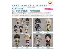 "預訂 6月 日版 GOOD SMILE Orange Rouge Nendoroid Petite Musical 刀劍亂舞 ""Touken Ranbu"" -Atsukashiyama Ibun- 6Pack BOX 盒蛋"