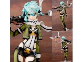Aquamarine Sword Art Online 刀劍神域 II  Sinon 詩乃 1/7 PVC Figure