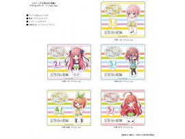 "Contents Seed 五等分的新娘 企牌 五等分の花嫁 アクリルスタンド 5種 (""The Quintessential Quintuplets"" Acrylic Stand)"