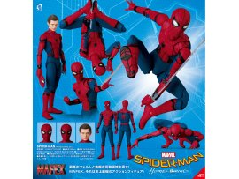 預訂 7月 日版 Medicom Toy MAFEX No.047 MAFEX SPIDER-MAN HOMECOMING Ver from 蜘蛛俠 Spider-Man: Homecoming