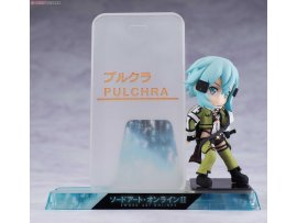 Pulchra Smartphone Stand Bishoujo 手機座 Character Collection No.08 Sword Art Online II 刀劍神域 Sinon 詩乃 PVC Pre-painted PVC Figure