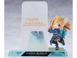 Pulchra Smartphone Stand Bishoujo 手機座 Character Collection No.09 Sword Art Online II 刀劍神域 Silica 西莉卡 PVC Pre-painted PVC Figure