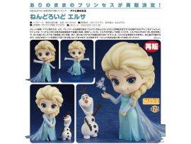 預訂7月 GSC  475  冰雪奇缘 黏土人 艾莎 PVC Figure 2次再販