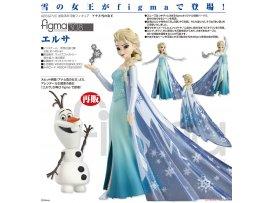 預訂 7月 日版 Max Factory figma 308 Frozen 冰雪奇緣 Elsa 艾莎