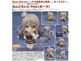 Good Smile 艦娘 Nendoroid 729 Kantai Collection Kan Colle Pola 意大利 波拉