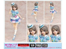 WAVE DreamTech  Love Live! Sunshine!! You Watanabe 渡邊曜 Kimi no Kokoro wa Kagayaiterukai 你的心靈是否光芒閃耀 Ver 1/8 PVC Figure