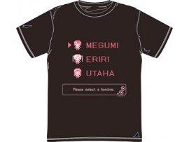 Movic Saekano How to Raise a Boring Girlfriend 不起眼女主角培育法 Flat T-shirt Megumi & Eriri & Utaha