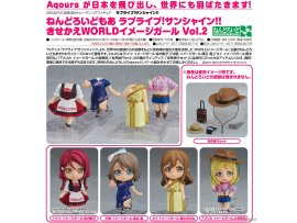 預訂 7月 日版 GOODSMILE Nendoroid More - Love Live! Sunshine!!: Dress Up World Image Girls Vol.2 5Pack BOX