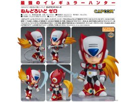 預訂 7月 日版 Good Smile Mega Man Nendoroid 860 Zero 洛克人 零