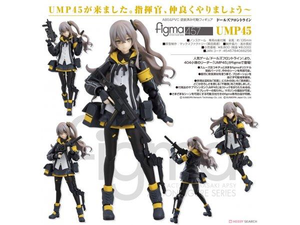 預訂 7月 日版 Max Factory Figma 457 Girls' Frontline 少女前線 UMP45 Pre-order