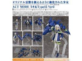 預訂 7月 日版 Good Smile ACT MODE Navy Field 152 Mio 澪 & Type15 Ver2 Posable Figure & Plastic Model Pre-order