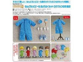 預訂 7月 日版 Good Smile Nendoroid Doll Outfit Set Colorful Coverall 彩色工作服 Blue 藍色 Pre-order