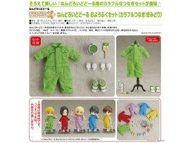 預訂 7月 日版 Good Smile Nendoroid Doll Outfit Set Colorful Coverall 彩色工作服 Yellow-green 黃綠色 Pre-order
