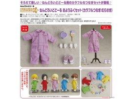 預訂 7月 日版 Good Smile Nendoroid Doll Outfit Set Colorful Coverall 彩色工作服 Purple 紫色 Pre-order