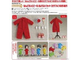預訂 7月 日版 Good Smile Nendoroid Doll Outfit Set Colorful Coverall 彩色工作服 Red 紅色 Pre-order