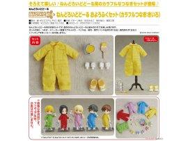 預訂 7月 日版 Good Smile Nendoroid Doll Outfit Set Colorful Coverall 彩色工作服 Yellow 黃色 Pre-order