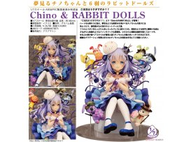 預訂 7月 Easy Eight  請問您今天要來點兔子嗎 ? 智乃  Is the order a rabbit?? Chino & RABBIT DOLLS 1/7 PVC Figure