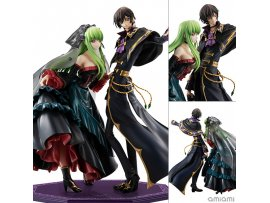 日版 MegaHouse Precious G.E.M. Series Code Geass 復活的魯路修 Re;surrection L.L. & C.C. Set Com Figure Pre-order
