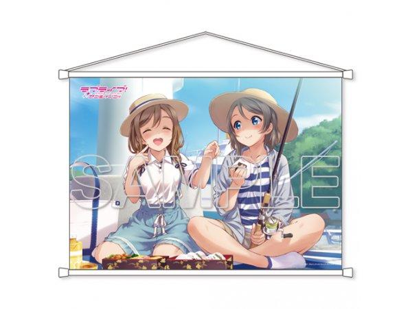 預訂 8月 KADOKAWA  ラブライブ!サンシャイン!! B2タペストリー Aqours 曜&花丸