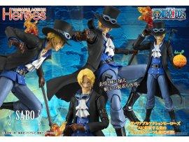 預訂 8月 MegaHouse  海賊王  Action Heroes  薩波  PVC Figure 再贩