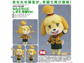 預訂 8月 Good Smile Nendoroid 386 Animal Crossing 動物之森 New Leaf Isabelle Winter Ver