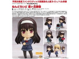Good Smile Nendoroid 738 Saekano How to Raise a Boring Girlfriend Flat 不起眼女主角培育法 Utaha Kasumigaoka 霞之丘詩羽