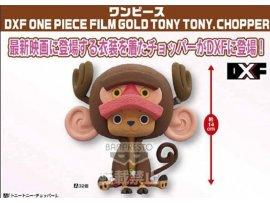 日版 眼鏡廠 BANPRESTO 海賊王 ONE PIECE FILM TONY GOLD 劇埸版 金 DXF 喬巴 CHOPPER