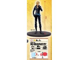 日版 眼鏡廠 BANPRESTO 海賊王 ONE PIECE FILM TONY GOLD 劇埸版 金 DXF 山治 Sanji
