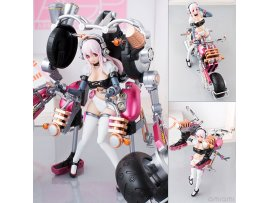 日版 Bandai Armor Girls Project Super Sonico 索尼子 with Super Bike Robot 10th Anniversary ver 10週年 NITRO SUPER SONIC NSS