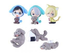 """預訂 8月 日版 empty Chara-Forme - """"Yuri on Ice"""" 冰上的尤里 Swing Mascot Collection 6Pack BOX 盒旦 扣"""