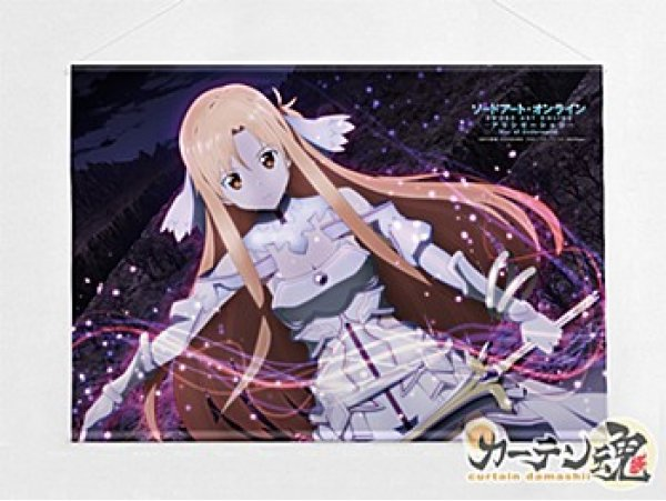 預訂 9月 日版 Curtain Tamashii Sword Art Online 刀劍神域 Alicization B2 Tapestry Asuna 亞絲娜 / Goddess of Creation Stacia