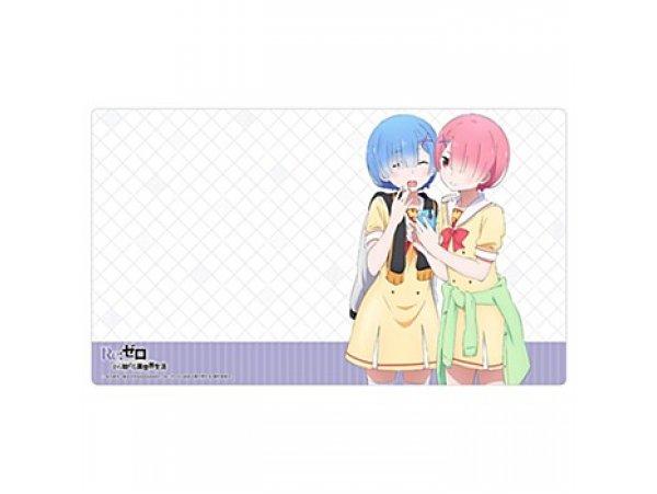 預訂 9月 日版 Curtain Tamashii Re:Zero kara Hajimeru Isekai Seikatsu 從零開始的異世界生活 Rubber Mat Ram & Rem
