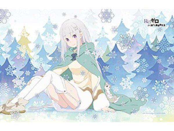 預訂 9月 日版 Curtain Tamashii Re:Zero kara Hajimeru Isekai Seikatsu 從零開始的異世界生活 Blanket Emilia & Puck
