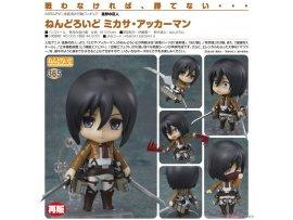 9月 GSC 365 進擊的巨人  黏土人 米卡莎・阿卡曼 Nendoroid Mikasa Ackerman (PVC Figure)  再版