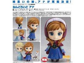 預訂 9月 日版 Good Smile Nendoroid 550 Frozen 冰雪奇緣 Anna 安娜