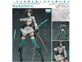 預訂 9月 日版 MAX FACTORY Seventh Dragon III code VFD 七龍傳說III VFD Samurai 武士 PVC