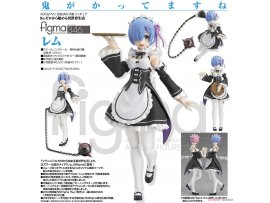Max Factory figma 346 Re ZERO Starting Life in Another World 從零開始的異世界生活 Rem 蕾姆