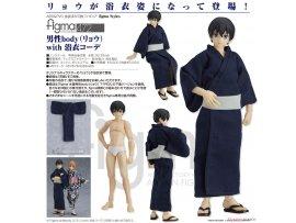 預訂 9月 Max Factory 472  figma 男性body(Ryo) with 浴衣 PVC Figure