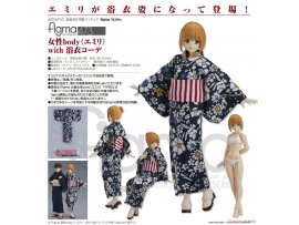Max Factory 473  figma 女性body(Emily) with 浴衣 PVC Figure