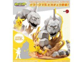 預訂 9月 Kotobukiya  Pokemon 大岩蛇 VS 皮卡丘 PVC Figure