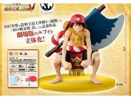 日版 BANPRESTO 海賊王 ONE PIECE FILM TONY GOLD 劇埸版 金 DXF Luffy 路飛