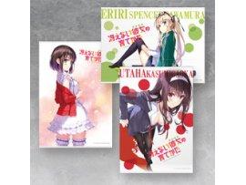 日版 Good Smile Saekano How to Raise a Boring Girlfriend ♭ 不起眼女主角培育法 B2 Tapestry Renewal Edition (Set of Three)